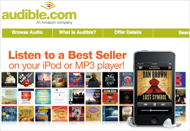 Audible alternatives  Top 10 Online Audio Book libraries