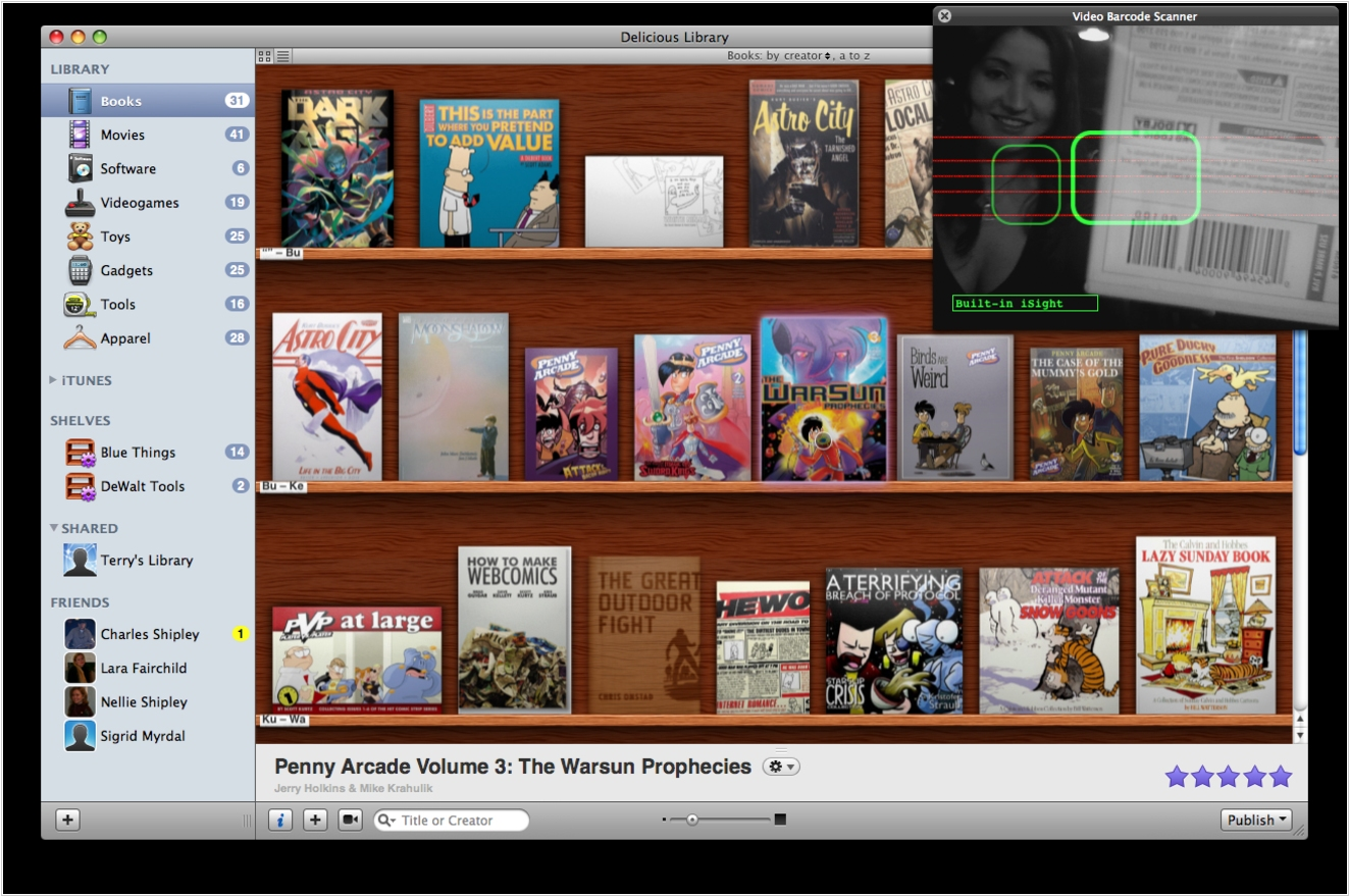 Delicious Library alternatives. Top 10 eBook Organizers