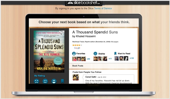Goodreads Competitor Slice Bookshelf Shuts Down A Social Community For Readers Taking On Amazon Owned By Offering More Modern