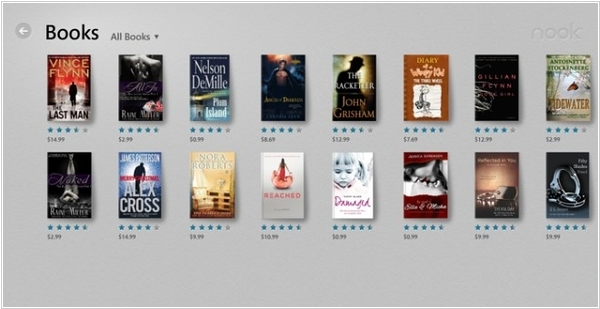 Nook alternatives  Top 10 Online eBook Stores